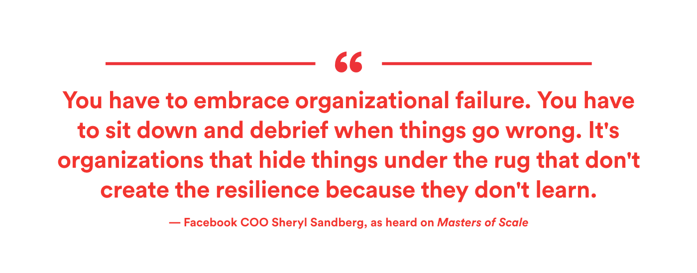 Sheryl Sandberg Interview Masters of Scale Podcast
