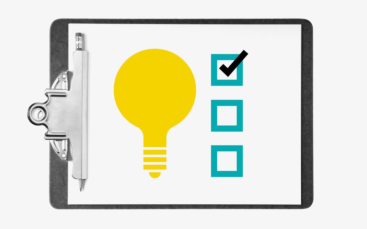 business_basics_strategy_tactic_lightbulb_check_list_board_clipboard